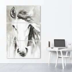Canvas 40 x 60 - Beautiful abstract horse