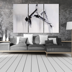Canvas 40 x 60 - Dancer on aerial contortion