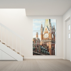 Canvas 40 x 60 - St-pancras station in london