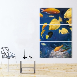 Canvas 40 x 60 - Fish under the sea