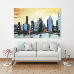 Toile 40 x 60 - Horizon du paysage urbain