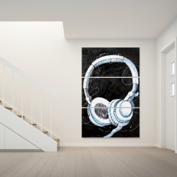 Toile 40 x 60 - écouteur