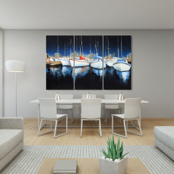Canvas 40 x 60 - Evening at the marina