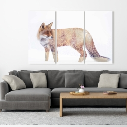 Canvas 40 x 60 - Forest and fox