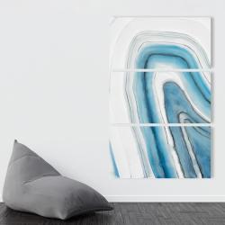 Canvas 40 x 60 - Round geode