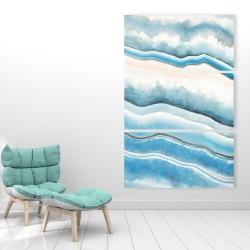 Canvas 40 x 60 - Textured geode