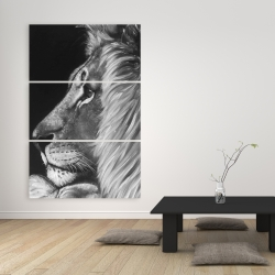 Canvas 40 x 60 - Lion and lioness