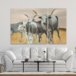 Canvas 40 x 60 - Nguni breeding
