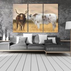Canvas 40 x 60 - Nguni herd
