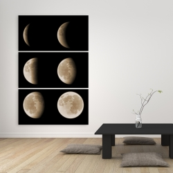 Toile 40 x 60 - éclipse en six phases