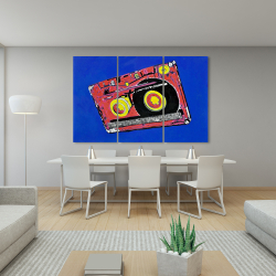 Canvas 40 x 60 - Tape player