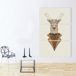 Canvas 40 x 60 -  deer with brown coat