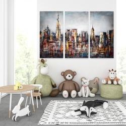 Canvas 40 x 60 - Dark cityscape