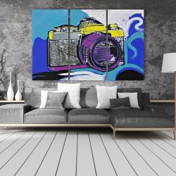 Canvas 40 x 60 - Retro camera