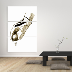 Canvas 40 x 60 - Illustration of a golf glove