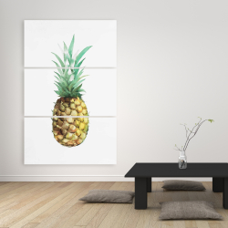 Canvas 40 x 60 - Watercolor pineapple