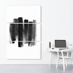 Canvas 40 x 60 - Black shapes