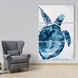 Canvas 40 x 60 - Blue turtle