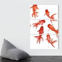 Canvas 40 x 60 - Red fishes