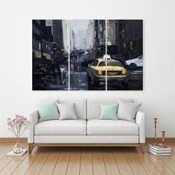 Canvas 40 x 60 - New york in the dark