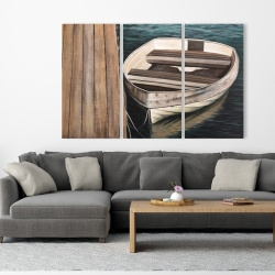Canvas 40 x 60 - Rowboats