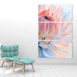 Canvas 40 x 60 - Lotus pastel flower