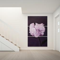 Toile 40 x 60 - Magnifique fleur mauve