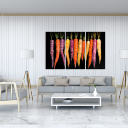 Canvas 40 x 60 - Carrots varieties