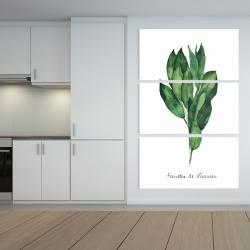 Canvas 40 x 60 -  bay leaves bundle - fr