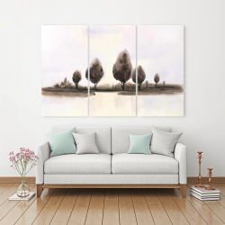 Canvas 40 x 60 - Abstract landscape of trees