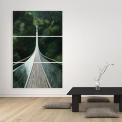 Canvas 40 x 60 - Steep bridge