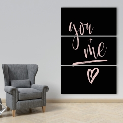 Canvas 40 x 60 - You + me