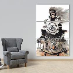 Canvas 40 x 60 - Vintage train