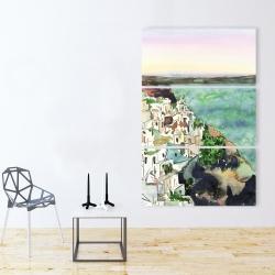 Canvas 40 x 60 - Landscape of crete
