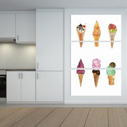Canvas 40 x 60 - Ice cream cones