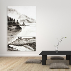 Canvas 40 x 60 - Peaceful landscape