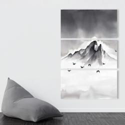Canvas 40 x 60 - Mountain peak