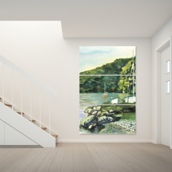 Canvas 40 x 60 - Sailboat day