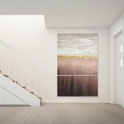 Canvas 40 x 60 - Golden pink