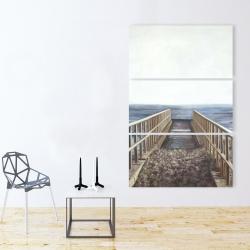 Canvas 40 x 60 - Relaxing beach