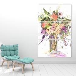 Canvas 40 x 60 - Romantic bouquet