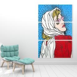 Canvas 40 x 60 - Pop art woman