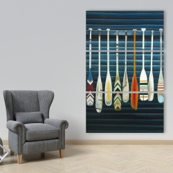 Canvas 40 x 60 - Paddles