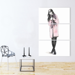 Canvas 40 x 60 - Woman spring look