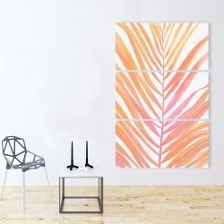 Canvas 40 x 60 - Glam palm leaf