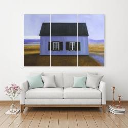 Canvas 40 x 60 - Blue barn