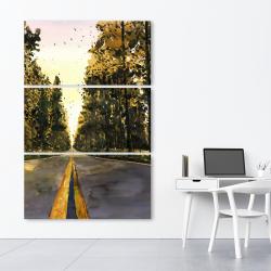 Canvas 40 x 60 - Long road