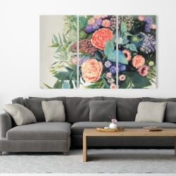 Canvas 40 x 60 - Flowers melody