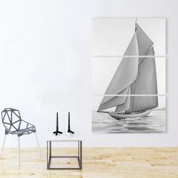 Canvas 40 x 60 - Vintage sailing ship