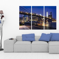 Canvas 40 x 60 - City at night